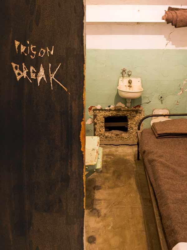 Evasion d'alcatraz